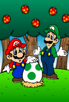 Finding a Yoshi Egg by SuperSmash3DS