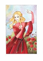 Muriel with poppies by Teodora85