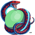 Snake and Orb by thefireflii