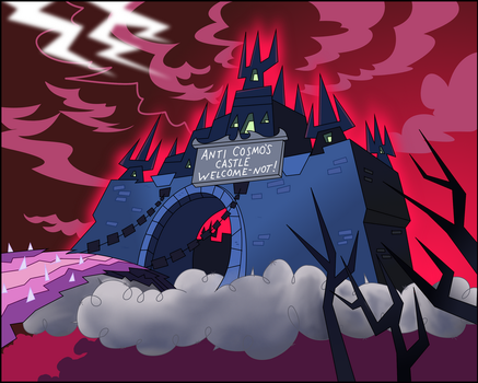 Anti-Cosmo's Castle by FairlyOddFan