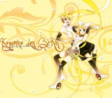 Kagamine Len and Rin by Ptorcja