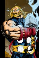 Thor  Color Test by Urieck