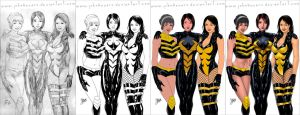 Commission Process: Wasp Corps by johnbecaro