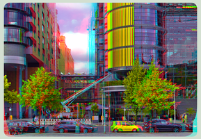 Modern Architecture of Berlin ::: DRI Anaglyph 3D by zour