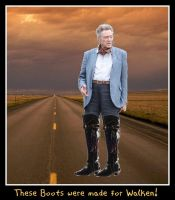 These boots were made 4 Walken by wiccanwitchiepoo