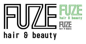 Fuze hair and beauty logo by dugebag