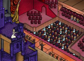 Final Fantasy 6 Opera House by JediMichael