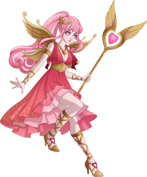 Cupid the goddess by sparks220stars