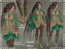 Anariel Armor Only by Elvina-Ewing