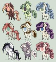 Pony Adopts - Name Your Price! - 6 LEFT! by Purr-Adopts
