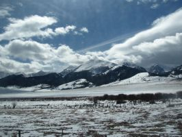 Snowy Mountains 2 by Zepher-Stock