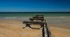 Old Mentone jetty 1 by tessavance