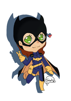 Batgirl by StarIce-Decepticons
