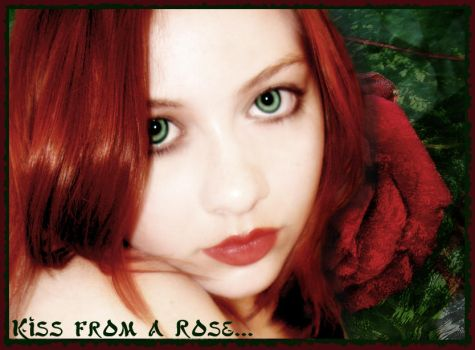 Kiss From A Rose by Cassandra28
