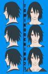 Sasuke faces for The Last by tomikouchiha21