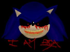 Sonic.exe - I AM SEGA by iammemyself