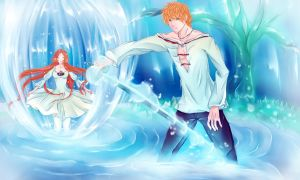 IchiHime: Protector2 by Iwonn