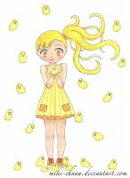 7 Days Color Challenge - Day 3: Yellow by miki-chaan
