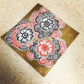 FLORAL SHARPIES by L4VOY
