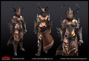 Arenanet Art Test 2014 - Beauty shots by Dantert