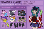 Tiamat's Trainer Card by tiamat