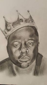 The Notorious B.I.G by WhatTheFlup