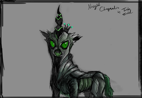 Nazgul Chrysalis Design Sketch by TurboSolid