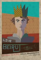 Beirut poster by Neonpony15