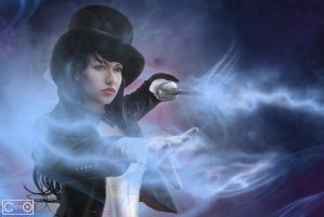 Victoria Lee Cosplay as Zatanna by moshunman