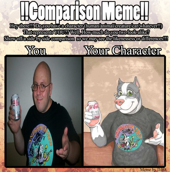 !!Comparison Meme!! by BOXICE