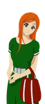 Orihime - my own coloring by Urube