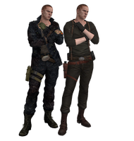 XPS - RE6 - Jake Render Pose. by henryque999
