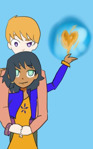 Happy Valentine's Day 2015 Card 2 Leo and Sam by timestoneauthor203