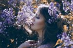 I leave thee lilac with heart-shaped leaves by PatrycjaMarciniak