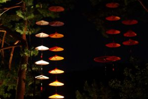 Trees in Fairy Land Grow Parasols by taeliac