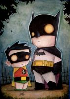 Batman and Robin by UMINGA