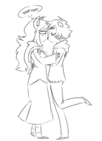 jade is trying to have a moment here karkat by GravelPudding