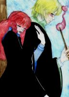 HP7-Rose and Scorpius 2 by Dhesia