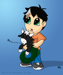 Chibi Percy and Bessie by TwinTwosGirl