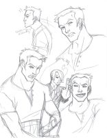 OP: Zoro sketches by persephohi