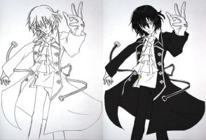 Pandora Hearts: Gil Nightray by shokizuki