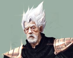 John Hurt is a super saiyan... by lordFelwynn