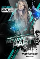 Party Flyer PSD *FREE DOWNLOAD* by ImperialFlyers