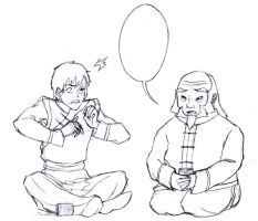 Zuko and Iroh Preview - (No Coloring Please!) by Blooming-Pinguicula
