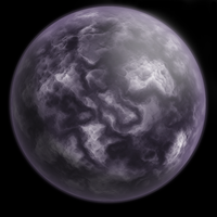 Purple Planet by eViLe-eAgLe