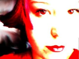 shannon in crimson by earthly-delight