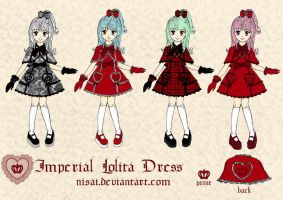 Imperial Lolita Dress by Nisai