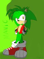 Manic The Hedgehog by sonicnumberonefan165
