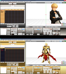 MMD Fate/SN Gilgamesh UI color DL by ScarlettAckerman