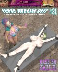 Super Heroine Heat Issue 31 cover by WikkidLester